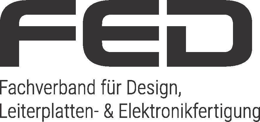 Logo FED - Fachverband für Design, Leiterplatten- & Elektronikfertigung