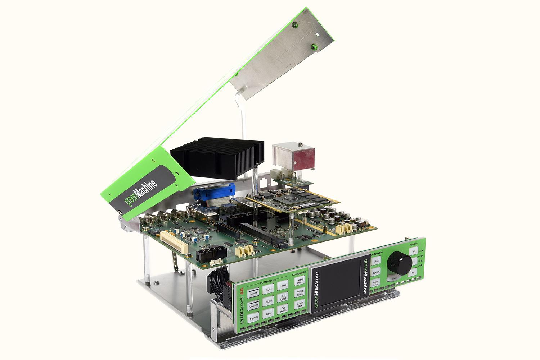 Audio-Embedder Green Machine von productware